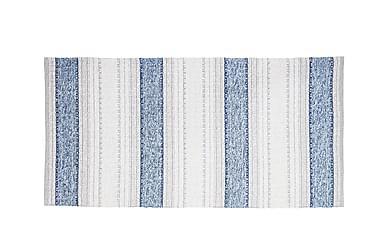 Anna Matta Mix 70x260 PVC/Bomull/Polyester Blå