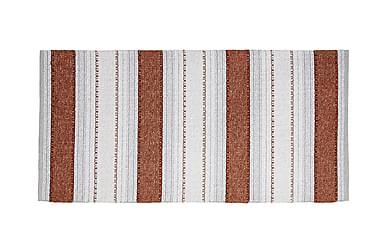 Anna Matta Mix 70x300 PVC/Bomull/Polyester Rost