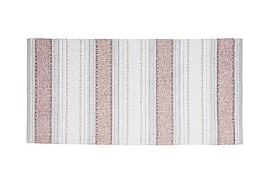 Anna Matta Mix 70x340 PVC/Bomull/Polyester Rosa