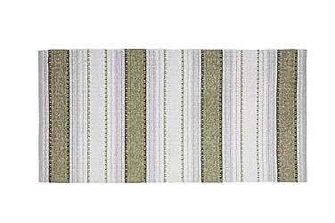 Anna Matta Mix 70x380 PVC/Bomull/Polyester Oliv