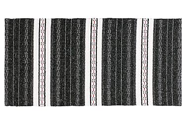 Asta Matta Mix 170x220 PVC/Bomull/Polyester Svart
