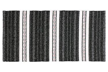 Asta Matta Mix 170x260 PVC/Bomull/Polyester Svart