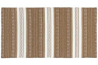 Astor Plastmatta 70x120 Vändbar PVC Brun