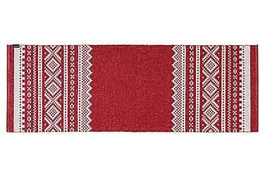 Björn Plastmatta 150x200 Vändbar PVC Röd