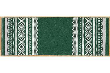 Björn Plastmatta 150x250 Vändbar PVC Grön
