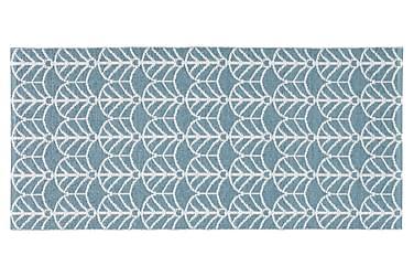 Deco Plastmatta 70x50 Vändbar PVC Blå