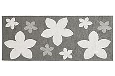 Flower Plastmatta 70x200 Vändbar PVC Grå