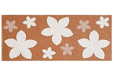 Flower Plastmatta 70x350 Vändbar PVC Rost