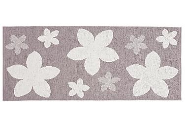 Flower Plastmatta 70x50 Vändbar PVC Ljung