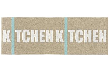 Kitchen Plastmatta 70x100 Vändbar PVC Beige