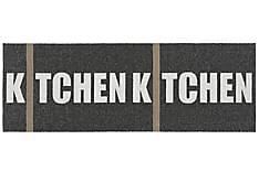 Kitchen Plastmatta 70x100 Vändbar PVC Svart
