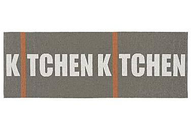Kitchen Plastmatta 70x300 Vändbar PVC Grå