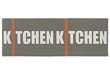 Kitchen Plastmatta 70x350 Vändbar PVC Grå