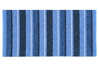 Liv Matta Mix 150x220 PVC/Bomull/Polyester Blå