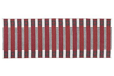 Märta Plastmatta 150x250 Vändbar PVC Röd