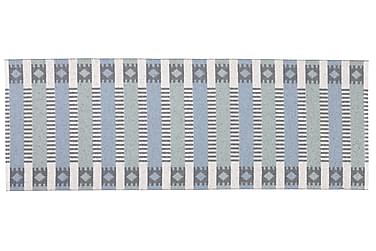 Märta Plastmatta 70x150 Vändbar PVC Blå/Grön