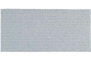 Ola Plastmatta 70x150 Vändbar PVC Blå