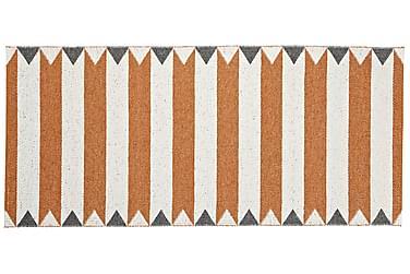 Peak Plastmatta 70x100 Vändbar PVC Orange