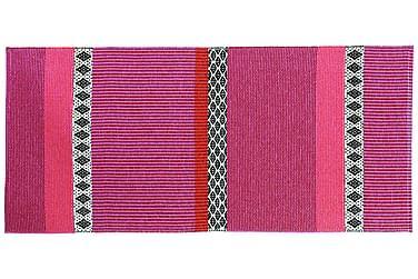 Savanne Plastmatta 150x250 Vändbar PVC Rosa
