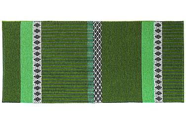 Savanne Plastmatta 70x150 Vändbar PVC Grön