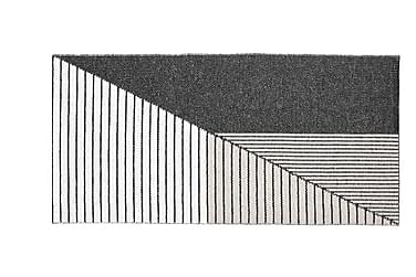Stripe Plastmatta 150x210 Vändbar PVC Svart/Rosa
