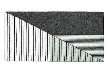 Stripe Plastmatta 70x210 Vändbar PVC Svart/Grön