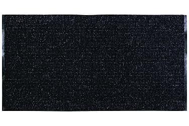 Uni Matta Mix 170x220 PVC/Bomull/Polyester Svart