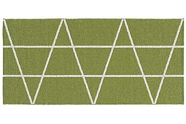 Viggen Plastmatta 70x100 Vändbar PVC Grön