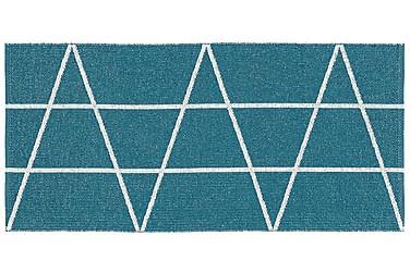 Viggen Plastmatta 70x50 Vändbar PVC Blå