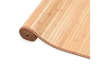Bambumatta 100x160 brun