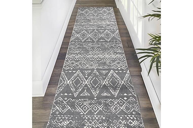 Irubhi Matta 80x150 cm - Grå/Vit - Heminredning - Mattor - Små mattor