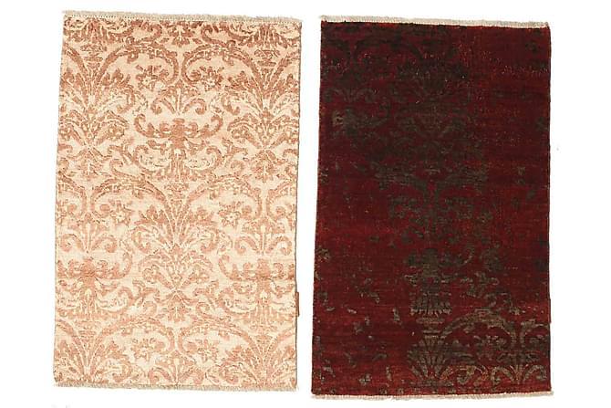 Matta Damask 2-pack 60x90 - Beige - Heminredning - Mattor - Små mattor