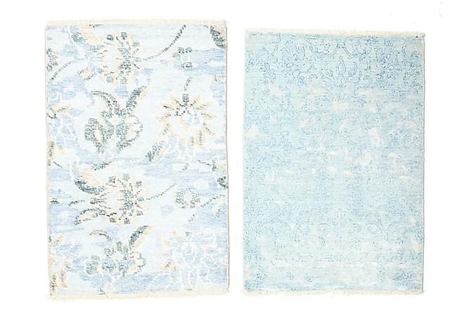 Matta Himalaya 60x90 - Blå|Vit - Heminredning - Mattor - Små mattor
