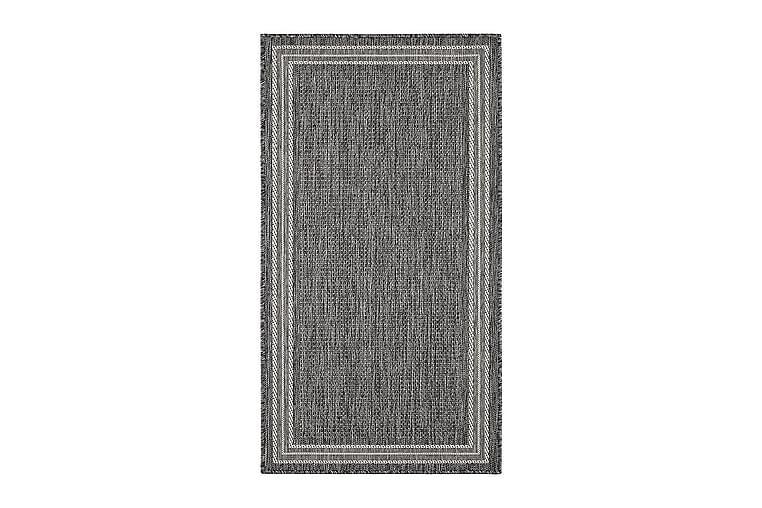 Numancia Frame Matta 80x240 cm Flatvävd - Grå - Heminredning - Mattor - Små mattor