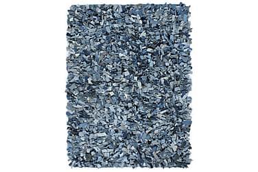 Shaggy-matta denim 80x160 blå