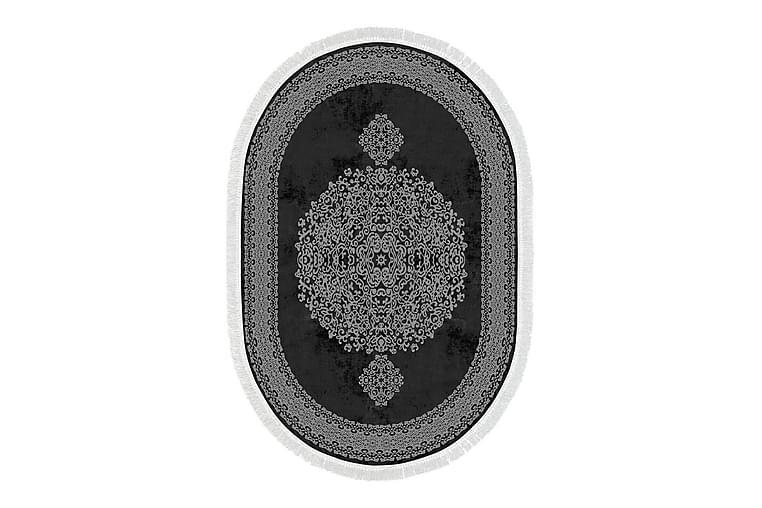 Alanur Home Matta 160x230 cm - Svart/Grå - Heminredning - Mattor - Stora mattor