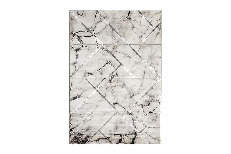 Ciril Marble Matta 200x290 - Silver - Heminredning - Mattor - Stora mattor