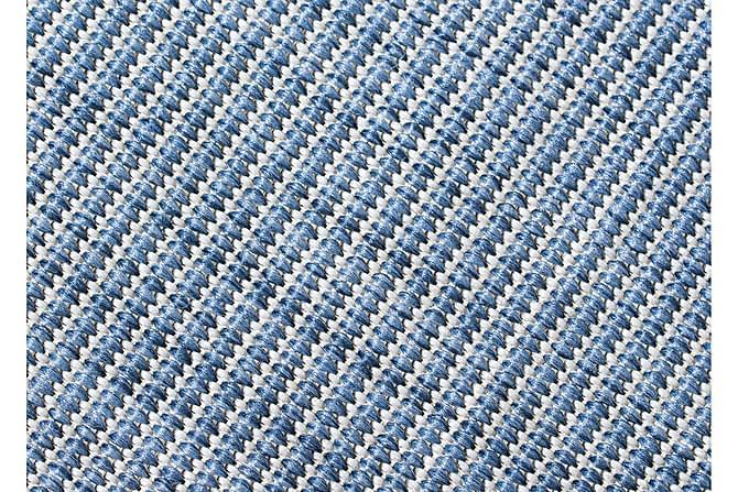 Esther Flatvävd 160x230 - Blå - Heminredning - Mattor - Stora mattor