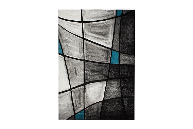 London Brilliance Friezematta 200x290 - Turkos - Heminredning - Mattor - Stora mattor