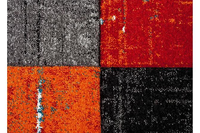 London Square Friezematta 160x230 - Röd/Orange - Heminredning - Mattor - Friezematta
