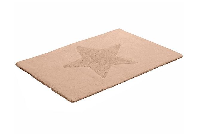 Matta Star vändbar 50x70 sand - Heminredning - Mattor - Trasmattor
