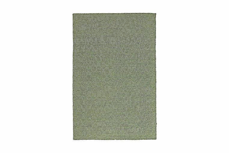 Mimir Ullmatta Handvävd 135x190 - Grön - Heminredning - Mattor - Ullmatta