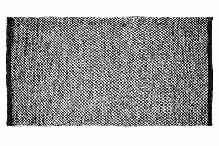 Rionne Ullmatta Handvävd 80x150 - Antracit - Heminredning - Mattor - Ullmatta
