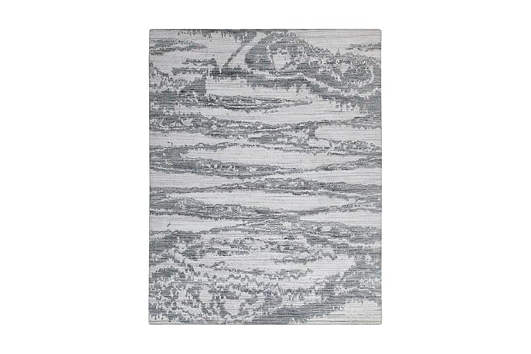 Everest D Viskosmatta 170x240 cm Vit/Blå/Beige - Jalal - Heminredning - Mattor - Viskosmattor & konstsilkesmattor
