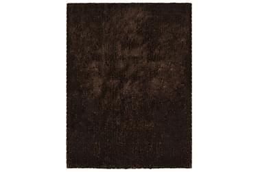 Shaggy matta 120x160 cm brun