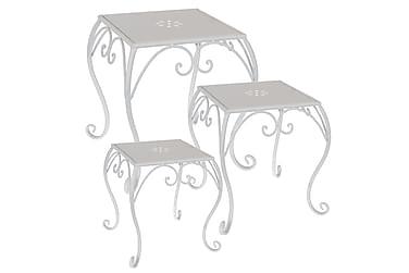 Småbord Fyrkantigta Set om 3