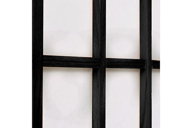 Rumsavdelare med 6 paneler japansk stil 240x170 cm svart - Heminredning - Småmöbler - Rumsavdelare