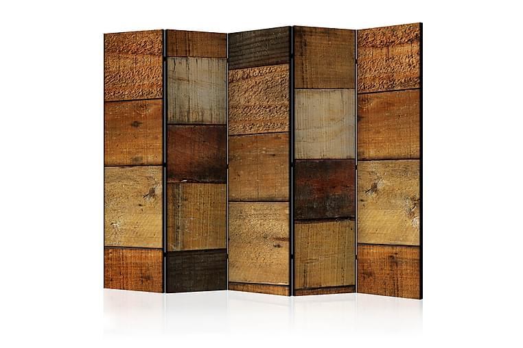 Rumsavdelare Wooden Textures II - 225x172 cm - Heminredning - Småmöbler - Rumsavdelare