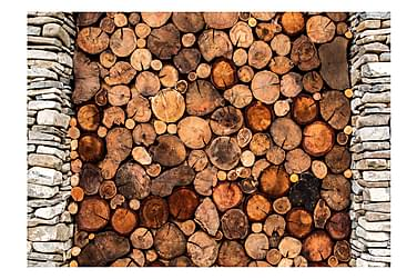 Fototapet Wooden Gate 150x105