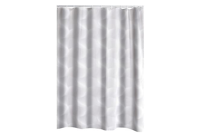3D Duschdraperi - Transparent - Heminredning - Textilier - Badrumstextilier